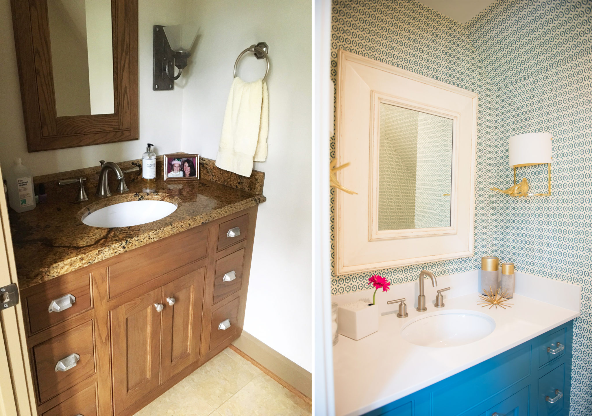 Before and After | Bathroom Remodel – Barbour Spangle Design